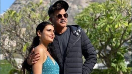 Fatima Sana Shaikh with Anil Kapoor.