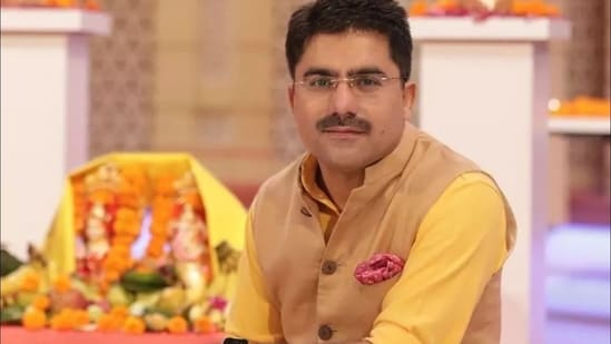TV journalist Rohit Sardana passed away on Friday after testing positive for Covid-19. (@DrJitendraSingh/Twitter Photo )