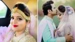 सुगंधा मिश्रा और संकेत बोसाल सोमवार को शादी के बंधन में बंध गए।