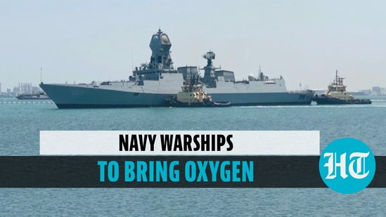 Navy deploys warship to import oxygen from Singapore, Bahrain, Thailand