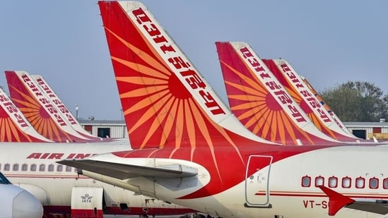 Air India on Wednesday informed that it will be operating flight from Mumbai to London's Heathrow airport on a slew of dates starting May 1.(PTI)