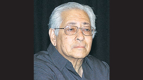 Sorabjee was a distinguished authority on law, an erudite and apolitical scholar with encyclopedic knowledge, a prolific writer, jazz lover, ardent protector of freedom of speech, the protagonist in the fight for personal liberty and a human rights watchdog. (HT File)