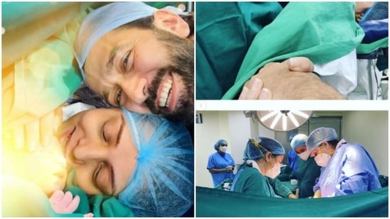 Jankee Parekh Mehta, wife of TV actor Nakuul Mehta, penned a note on their son Sufi's birth.