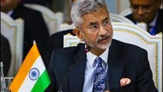 This will be External Affairs Minister S Jaishankar's first visit abroad since India was hit by a second wave of Coronavirus infections. (PTI PHOTO.)