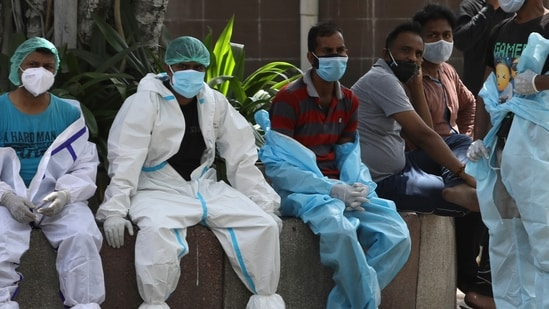The country recorded several cases of the UK variant which has a bigger mortality rate, health officials said.(AP)