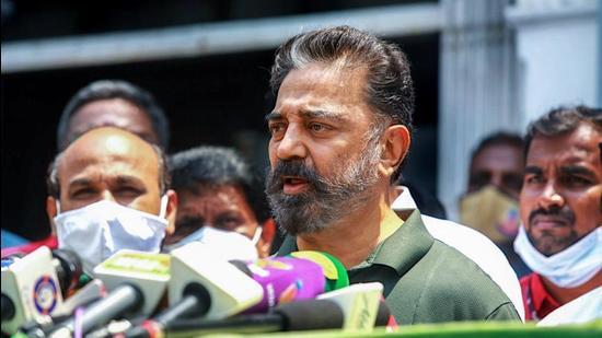 MNM president Kamal Haasan. (File photo)