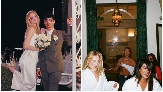 Sophie Turner and Joe Jonas got married in Las Vegas first, before their second wedding in France, nearly two months later.