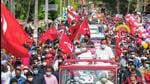 Kerala CM Pinarayi Vijayan at an election campaign. (File photo)