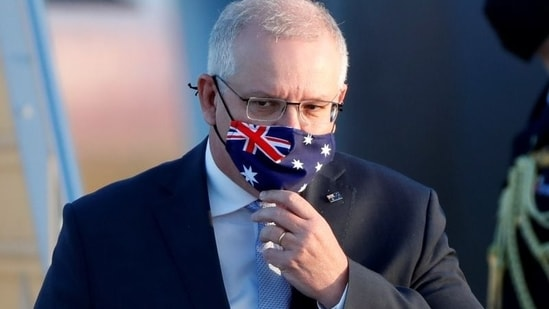 Australian Prime Minister Scott Morrison said this is a temporary arrangement and a very difficult decision.(REUTERS)