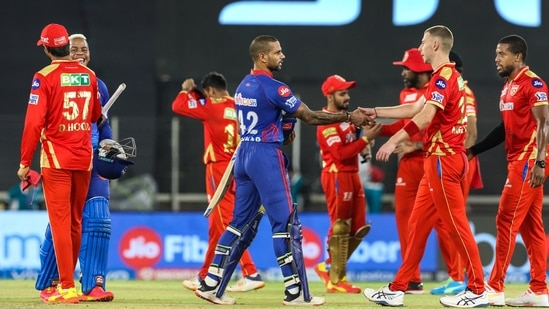 Delhi Capitals wins during match 29 of the Indian Premier League 2021.(PTI)