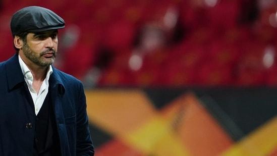 Roma's head coach Paulo Fonseca.(AP)