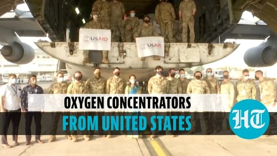 India receives 5th consignment of 545 oxygen concentrators from the US