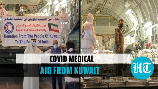 India receives 282 oxygen cylinders, 60 oxygen concentrators from Kuwait