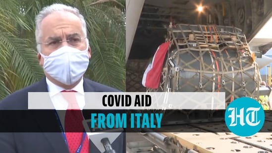 India receives Covid aid from Italy; EU envoy says focus is on oxygen supply