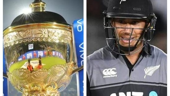 IPL Trophy and Ross Taylor.(IPL)