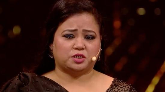 Bharti Singh is the host on Dance Deewane.
