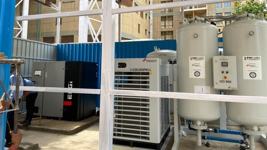 These oxygen plants have been supplied by M/s Trident Pneumatics Pvt. Ltd., Coimbatore, a technology partner of DRDO.