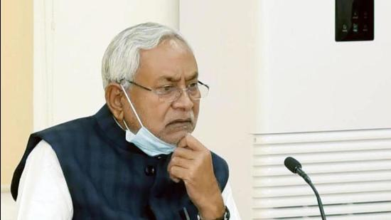 Chief Minister Nitish Kumar's government was admonished by the Patna high court for its handling of the Covid-19 crisis. (Ht Photo/Santosh Kumar)