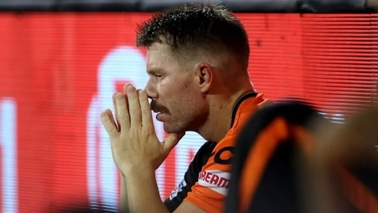 David Warner on Saturday was axed as Sunrisers Hyderabad's captain.(IPL)