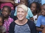 Singer Pink is an American singer and songwriter.(Instagram)