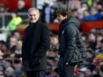 Jose Mourinho (left) and Antonio Conte(Twitter)