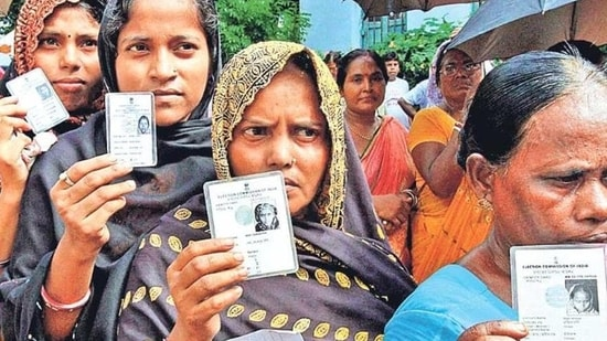 Trends and results available for 3,050 district panchayat wards on Wednesday evening showed the SP winning or leading in 779 wards. (PTI Phot/Representative)(HT_PRINT)