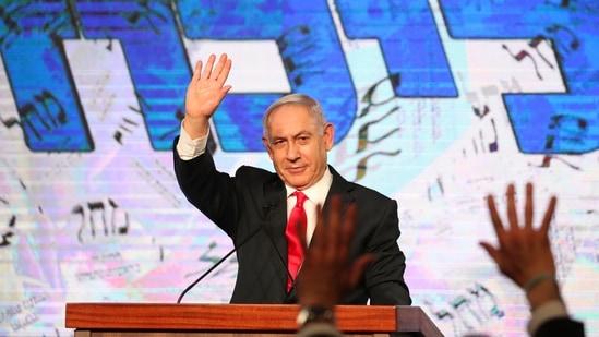Israeli Prime Minister Benjamin Netanyah.(AP)