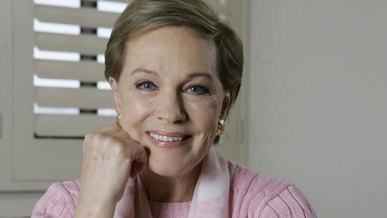 Julie Andrews has worked in iconic films such as Mary Poppins and The Sound of Music.(AP)