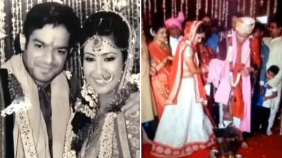 Ankita Bhargava shared a montage of pictures from her wedding with Karan Patel on their anniversary.