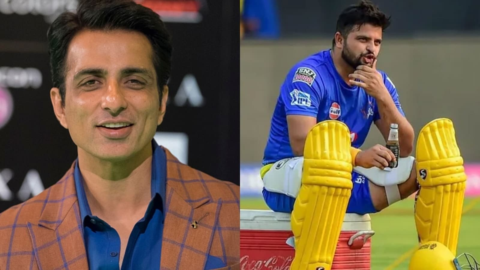 'Reaching in 10 minutes': Sonu Sood comes to Suresh Raina's aid after cricketer requests oxygen cylinder for relative