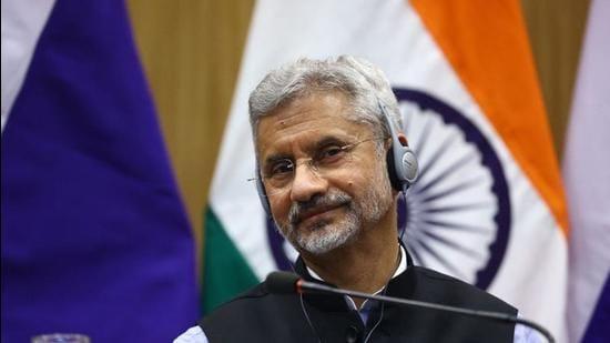Minister of external affairs S Jaishankar. (File photo)
