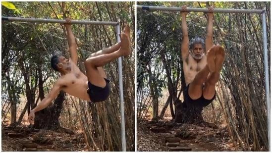 Milind Soman shares new fitness video(Instagram/milindrunning)