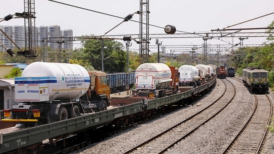22 more tankers are on the run with more than 400 tonnes of oxygen to various destinations(PTI)