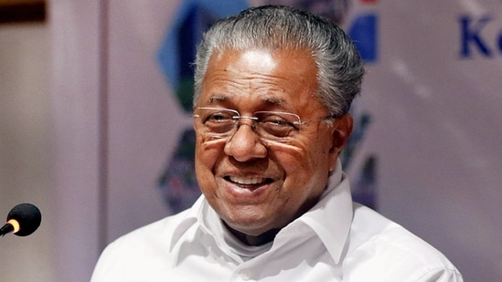 Kerala CM Pinarayi Vijayan spoke to Hindustan Times about how he did it, and stressed that his party's return to power will help Left and secular forces across the country.(PTI)