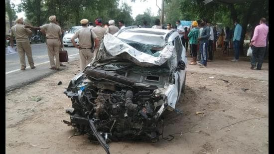 5 of family killed in bike-car crash in Hoshiarpur village
