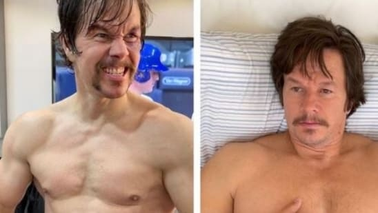 Mark Wahlberg has shared pictures of himself revealing his current shape.