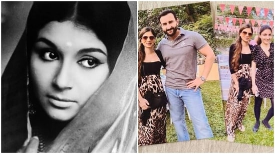 Saba Ali Khan has shared a vintage picture of her mother Sharmila Tagore.