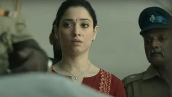 Tamannaah Bhatia in a still from the trailer of November Story.