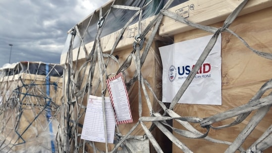 USAID Covid-19 coordinator Jeremy Konyndyk oversaw the send-off of the 4th plane carrying Medical supplies to India. (ANI Photo)