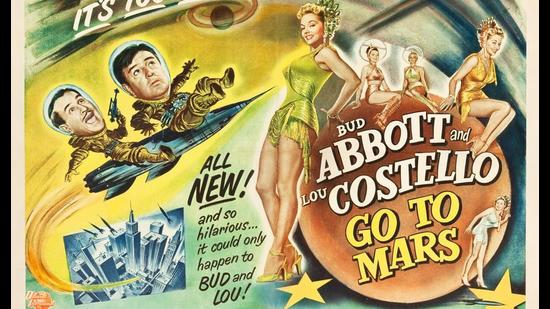 This 1950s film wasn't even set on Mars, the characters travel to Venus instead. But Mars had such a hold on the public imagination that no one seemed to mind.