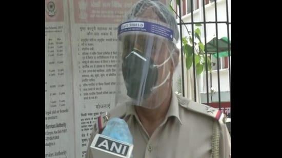 The image shows Assistant Sub-Inspector (ASI), Rakesh Kumar.(ANI)