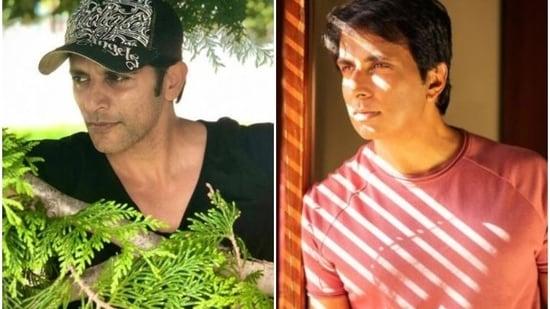 Karanvir Bohra has recalled how he welled up after watching an interview of actor Sonu Sood.