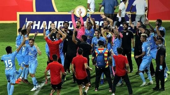 Mumbai City FC were crowned champions of ISL 2020-21.(ISL)