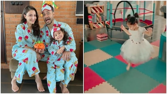 Soha Ali Khan has shared a new video of her daughter Inaaya.