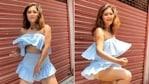 Rashami Desai danced to Cardi B's Up in a new video.