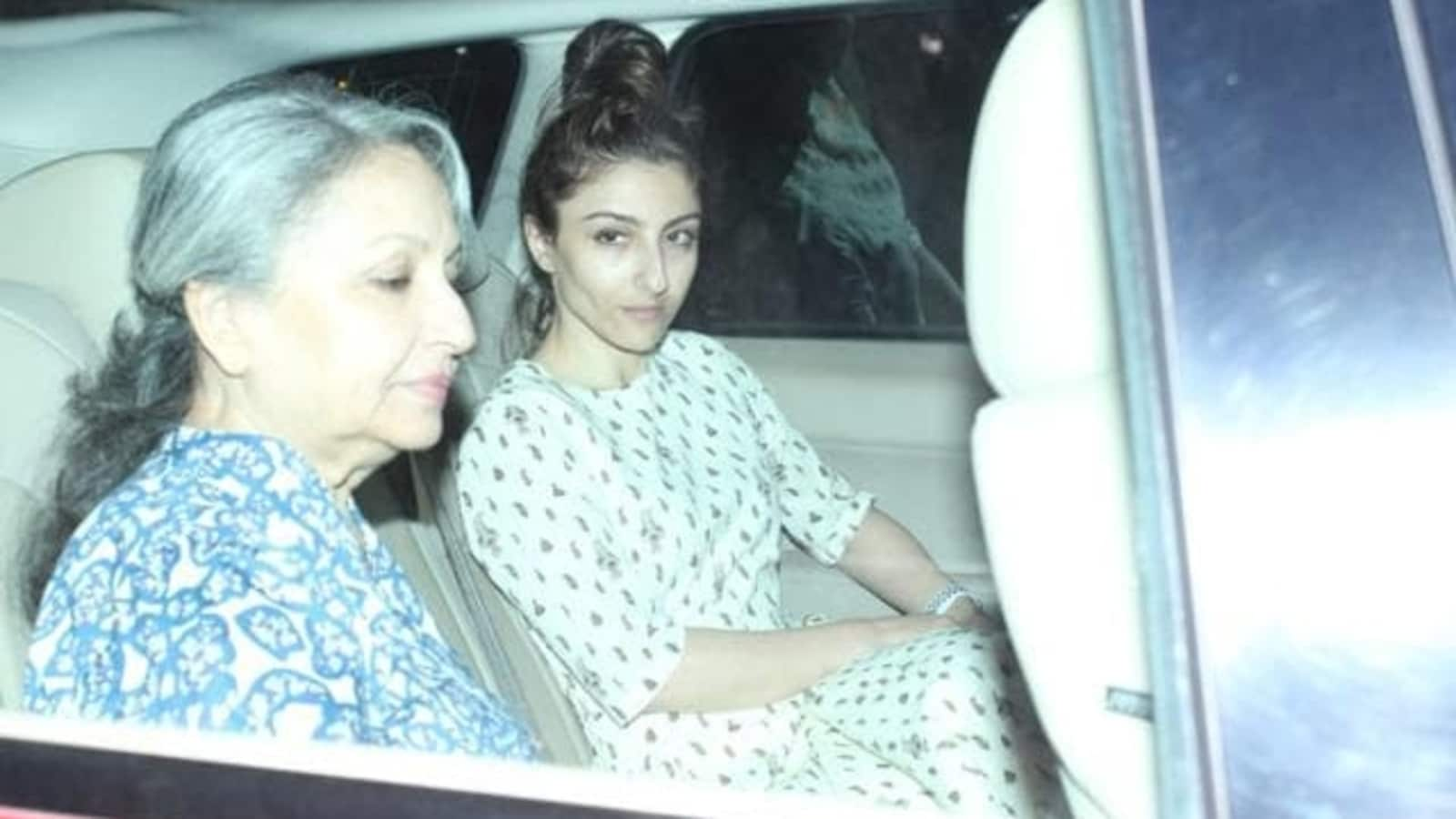 Soha Ali Khan and mother Sharmila Tagore to auction personal closet items for charity - Hindustan Times