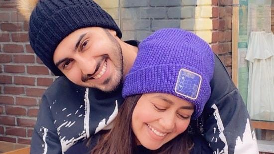 Neha Kakkar and Rohanpreet Singh teamed up for an Instagram Reels video.