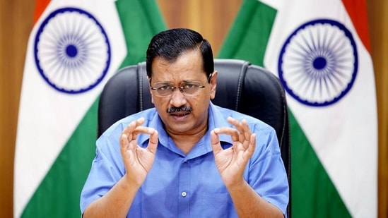 """""""If we get adequate doses, we will be able to vaccinate the entire Delhi in three months,"""" Delhi chief minister Arvind Kejriwal said.(ANI )"""