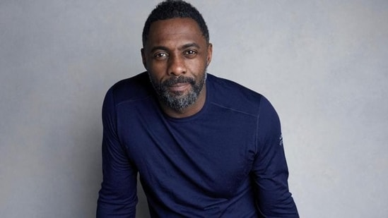 (File photo) British actor Idris Elba recently wrapped George Miller's next movie Three Thousand Years of Longing.(AP )