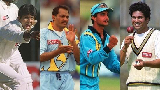 Venkatesh Prasad played under Mohammad Azharuddin, Sourav Ganguly and Sachin Tendulkar. (Getty Images)